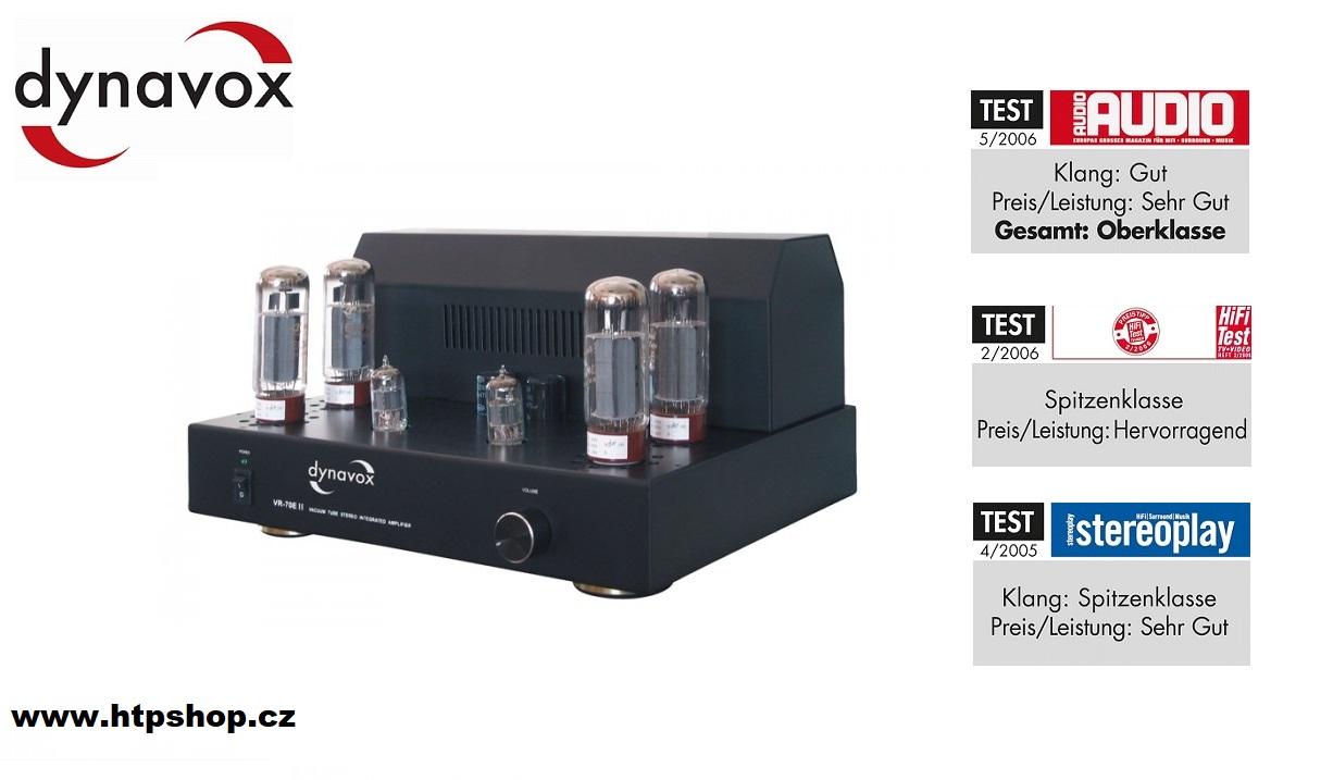 Dynavox VR-70E II Black