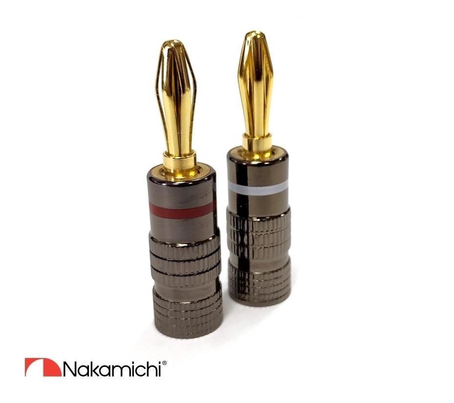 Nakamichi - Banana Plugs N0534 Black