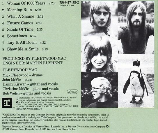Fleetwood Mac – Future Games