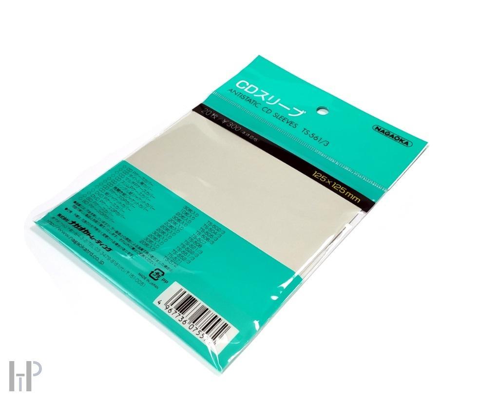 Nagaoka Antistatic CD Sleeves TS-561/3