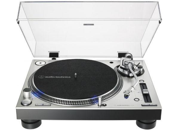 Audio-Technica AT-LP140XP - Stříbrná barva + Ortofon 2M RED