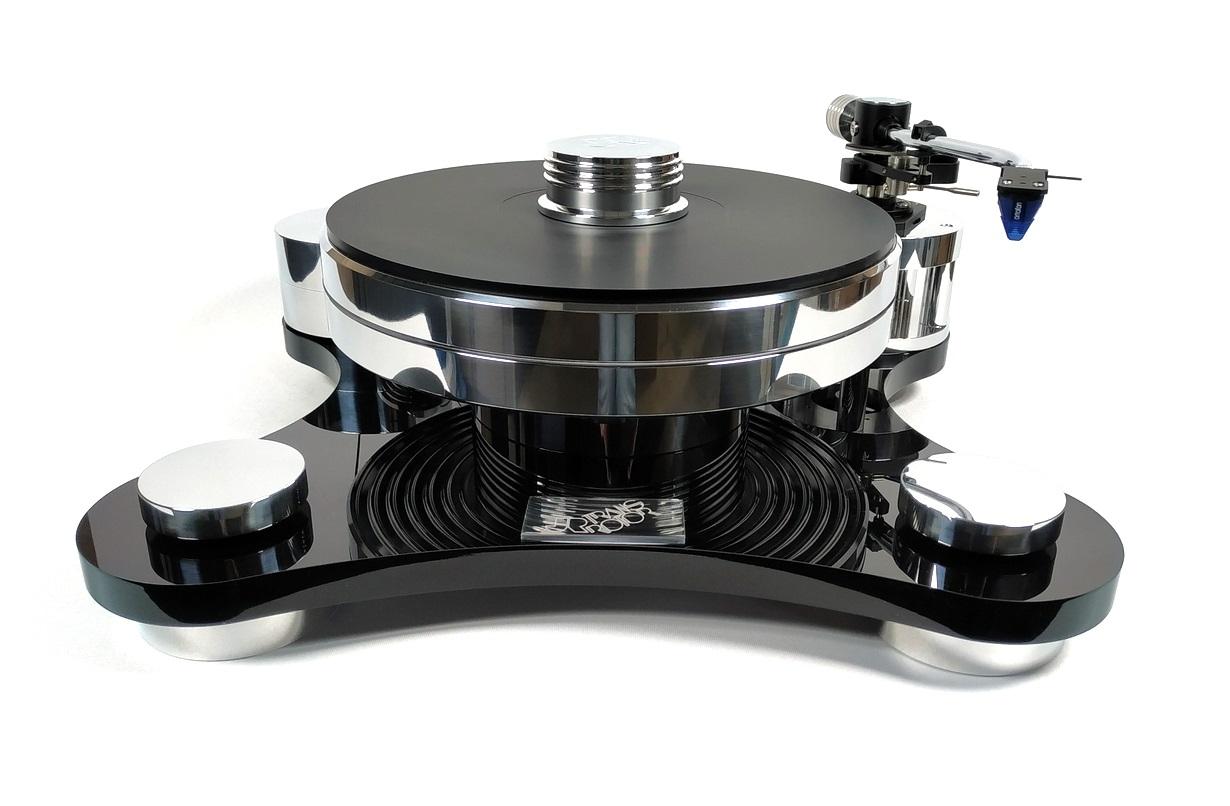Transrotor Zet 1 Black S Shape CZ Version