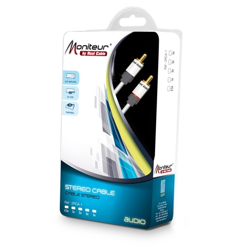 Real Cable 2RCA-1/3.0m