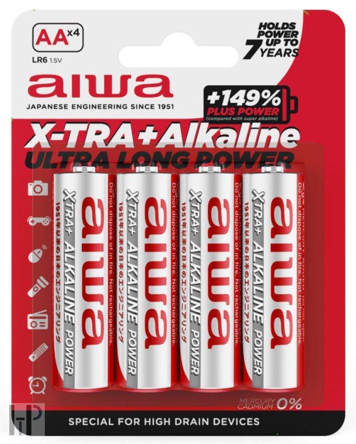 aiwa X-TRA+ Alkaline AAALR03