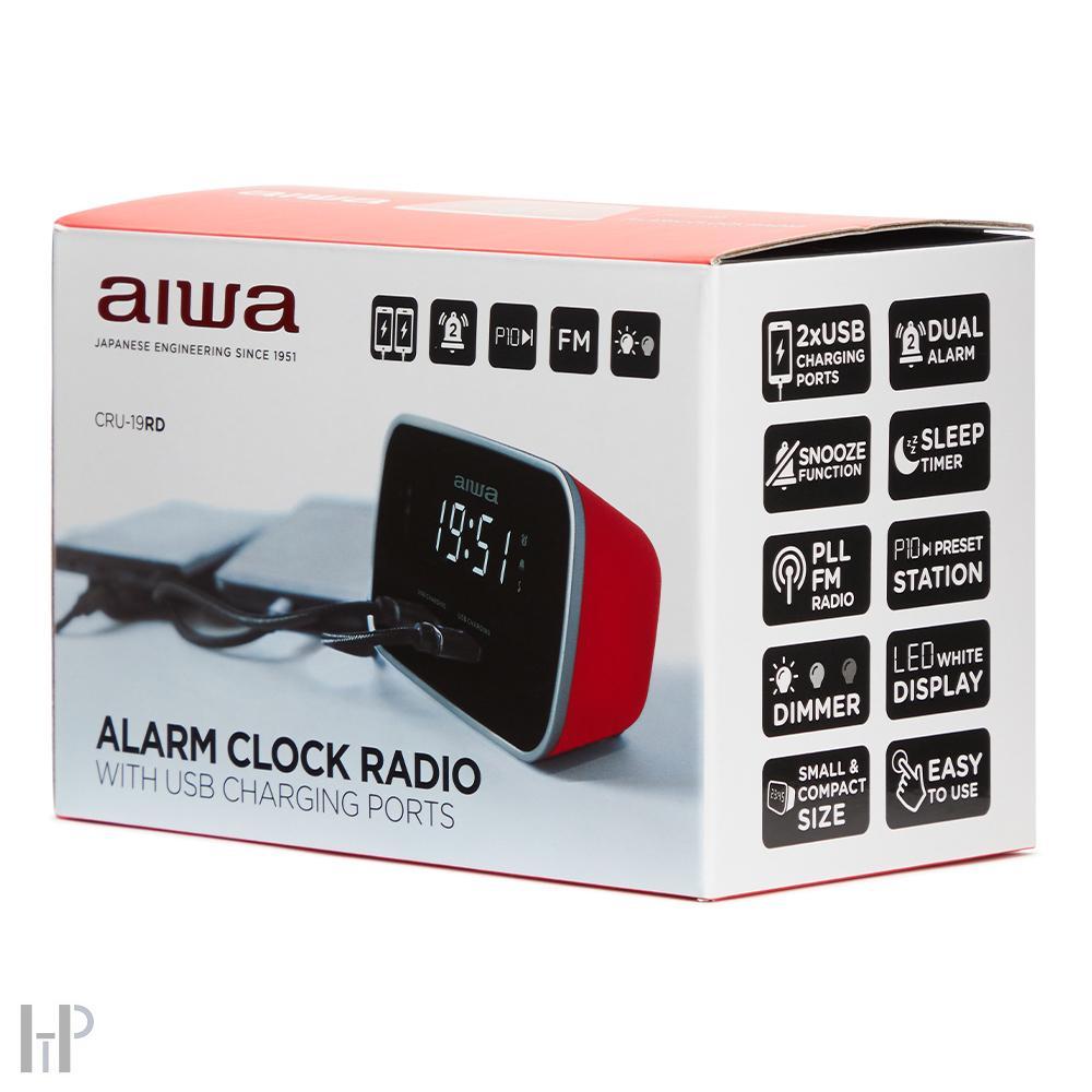 Aiwa CRU-19 Barevné provedení: černé