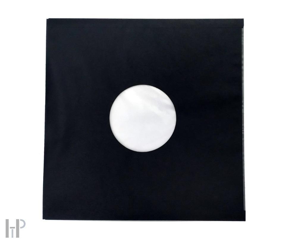 "HTP - 12"" LP Inner Sleeve black 80g Množství: 100 kusů"