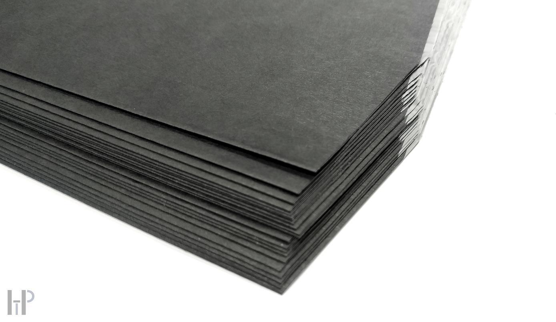 "HTP - 12"" LP Inner Sleeve black 80g angled Množství: 50 kusů"