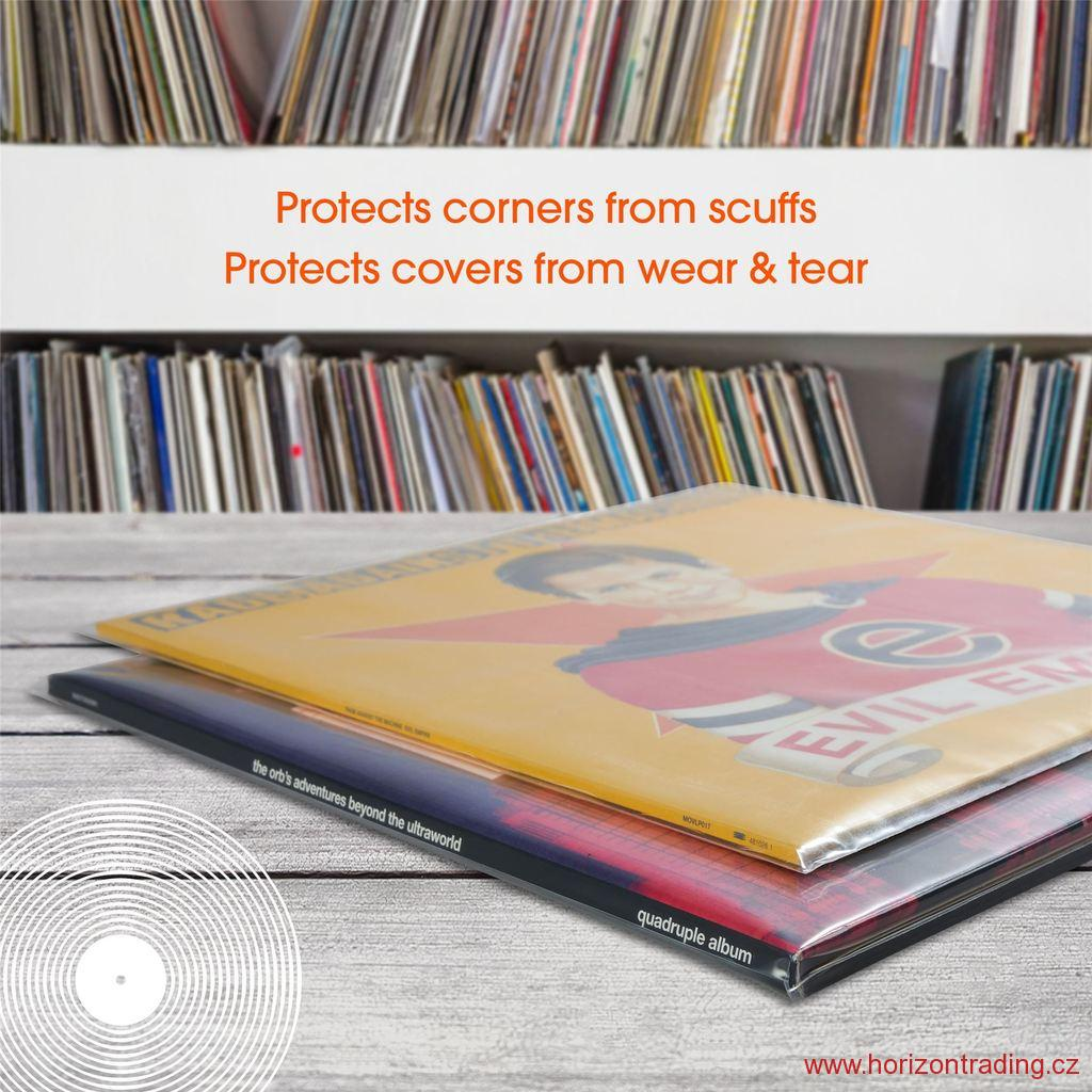 Spincare DENSITY 12 Inch 400g Polythene Outer Vinyl Record Sleeves