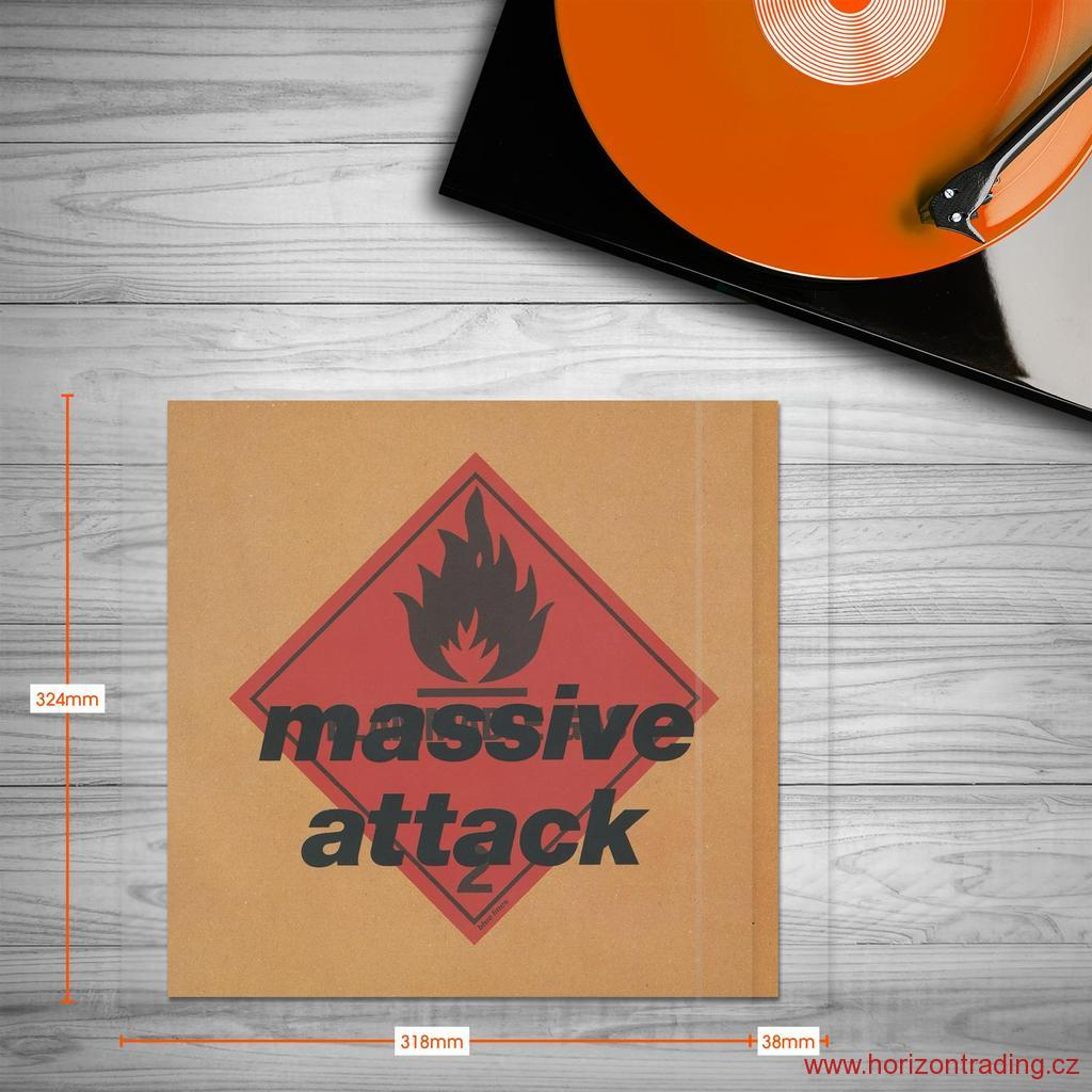 Spincare CLARITY 12 Inch GATEFOLD Resealable Outer Record Sleeves