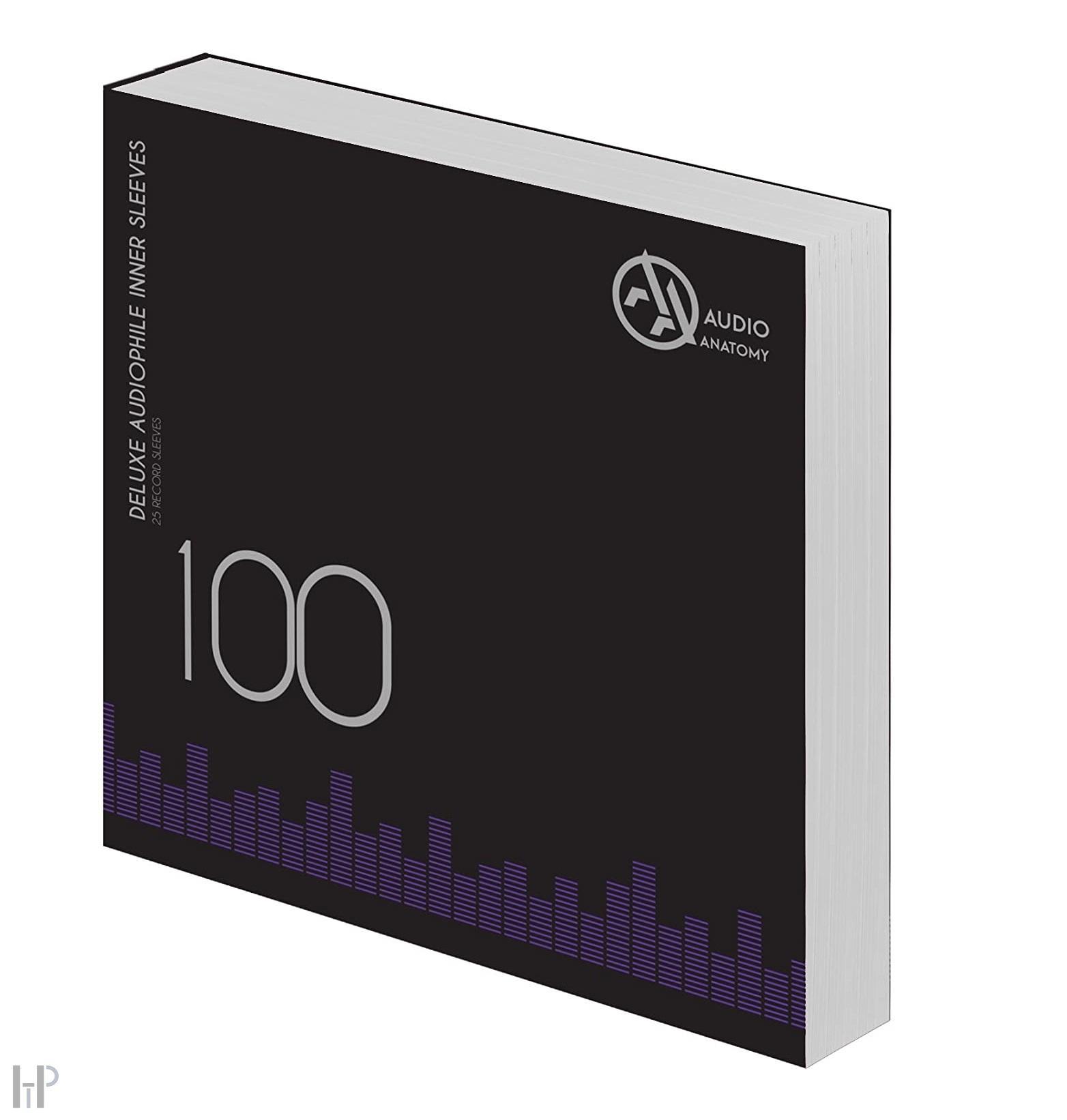 Audio Anatomy INNER SLEEVES 12″ Množství: 25 kusů