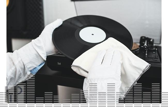 Audio Anatomy CLEANING GLOVES MICROFIBRE Délky kabelů: M
