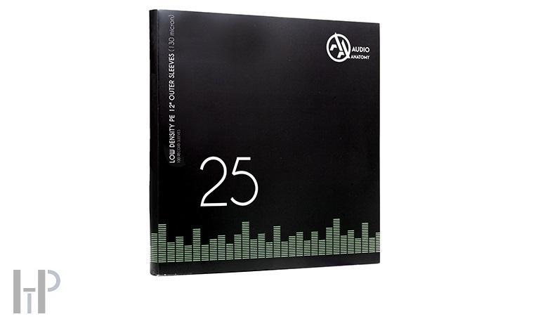 Audio Anatomy VINYL OUTER PE SLEEVES Množství: 25 kusů