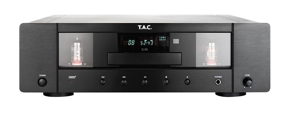 T.A.C. TAC C-35 Tube CD Barevné provedení: černé