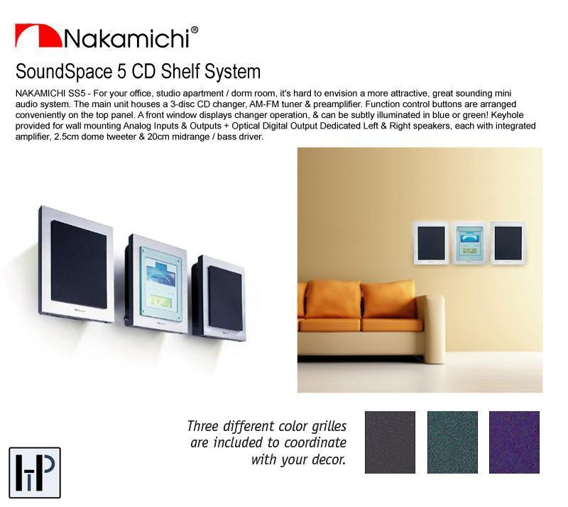 Nakamichi Soundspace 5