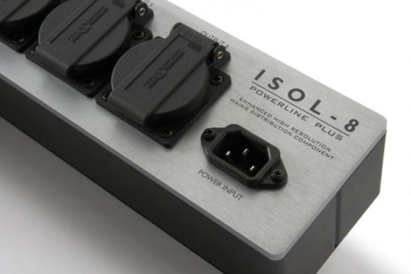 ISOL-8 PowerLine Plus 6 way