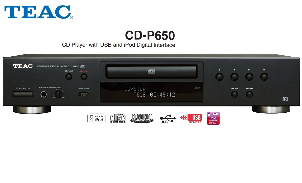 TEAC CD-P650
