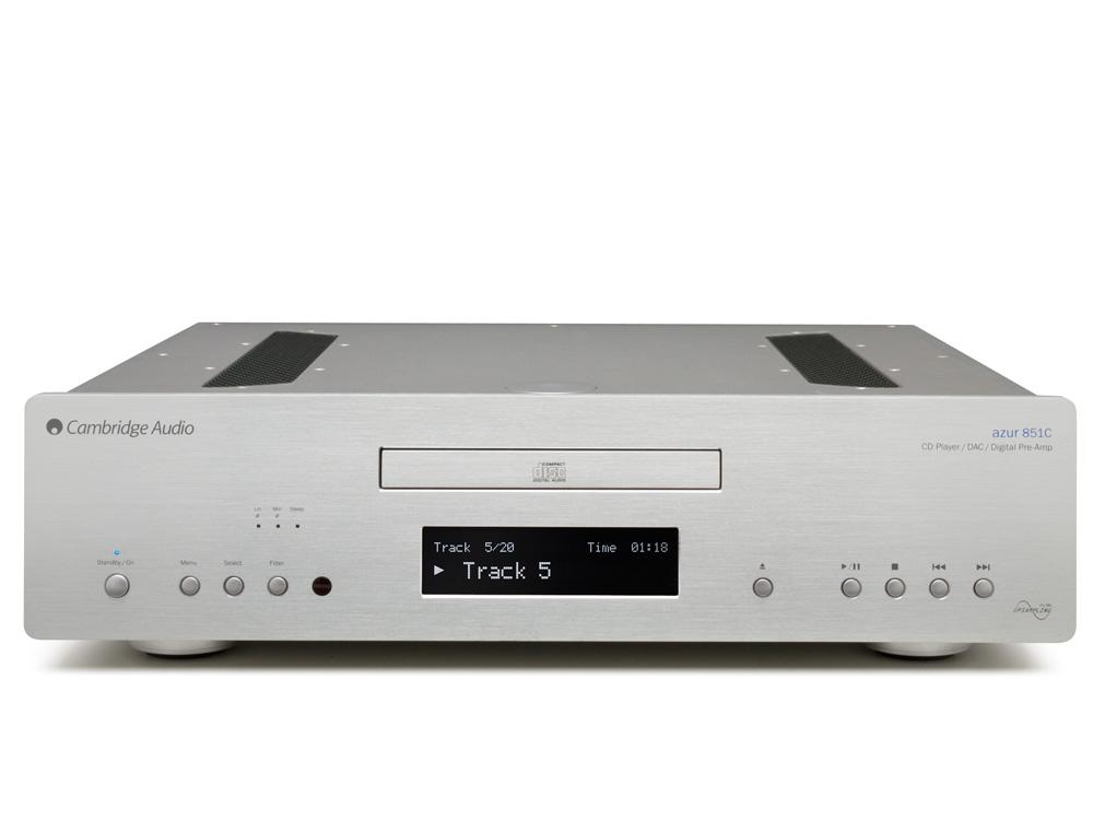Cambridge Audio Azur 851C Barevné provedení: silver - stříbrná