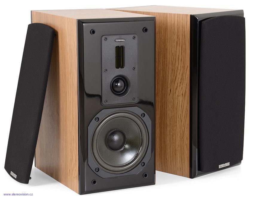 Dynavoice Definition DM-6 + Dynavox Speaker Cable SET 2x2,0m Barevné provedení: dub/černá - oak