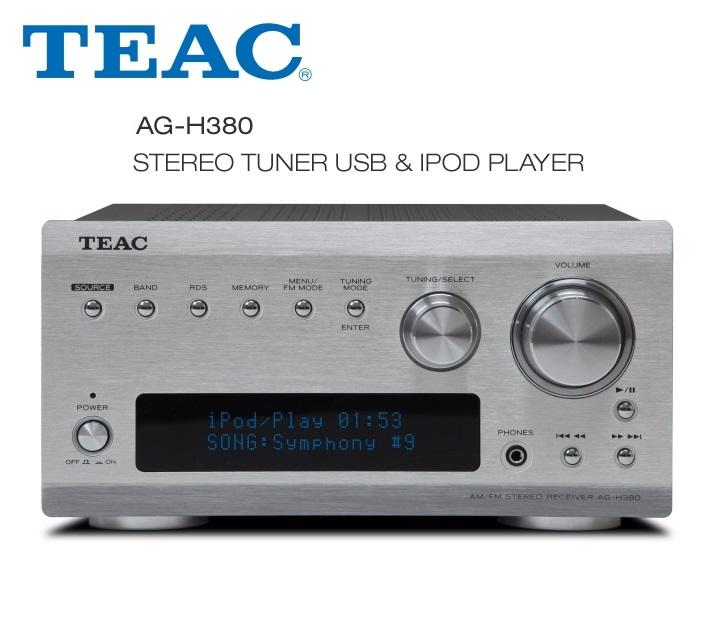 TEAC AG-H380 Barevné provedení: stříbrné