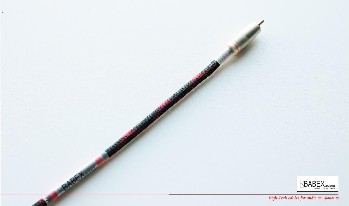 BABEXaudio - Young COAX Délky kabelů: 1,0 m