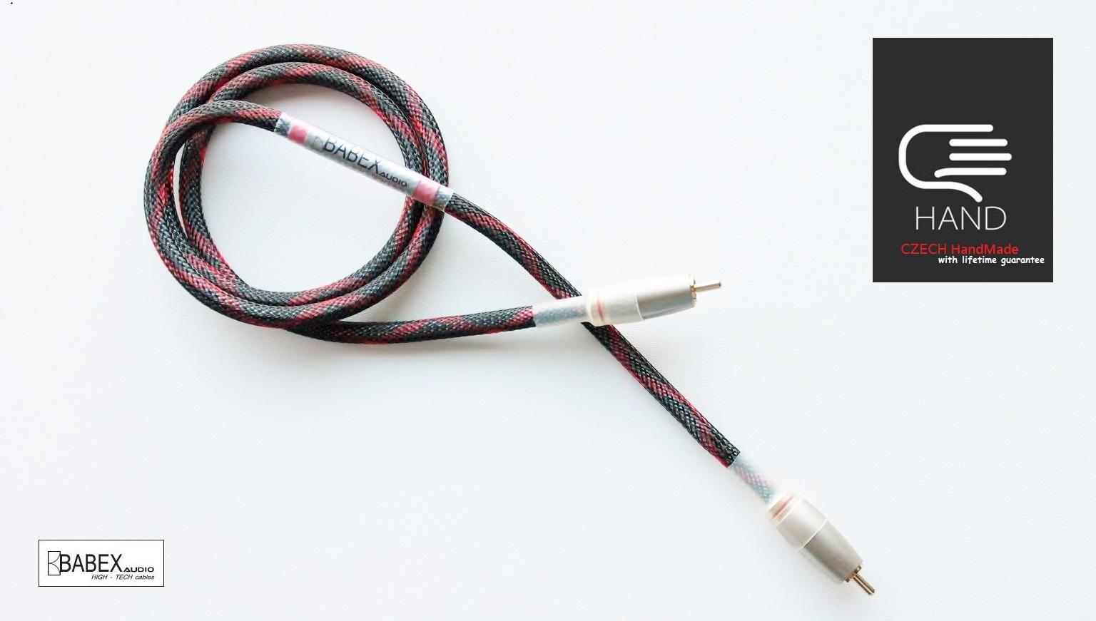 BABEXaudio-Young SUB Délky kabelů: 5 metrů
