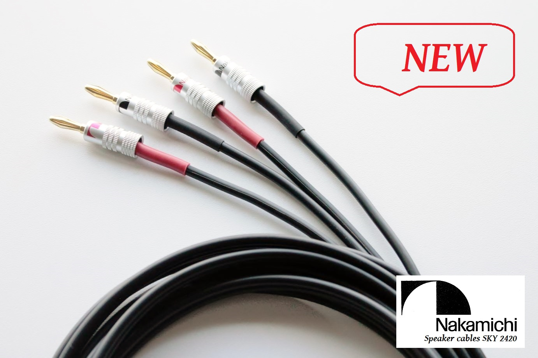 Nakamichi SKY 2420 Délky kabelů: 2x2,0m