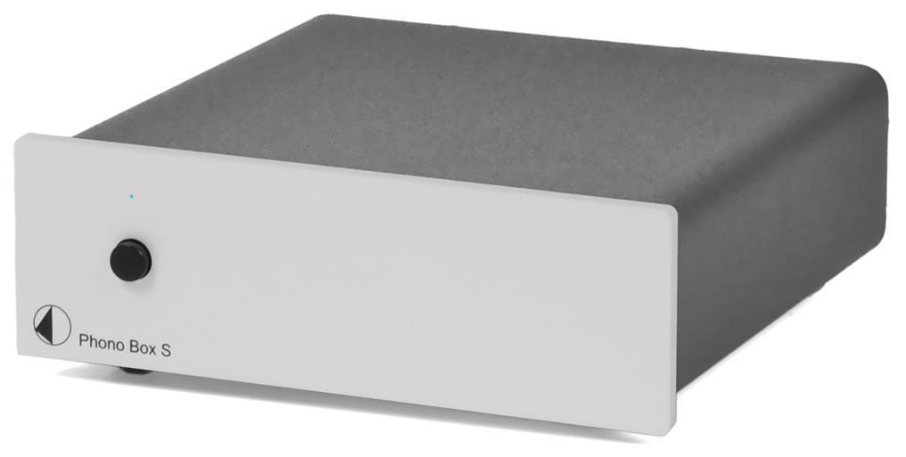 Pro-ject Phono Box S Barevné provedení: stříbrné
