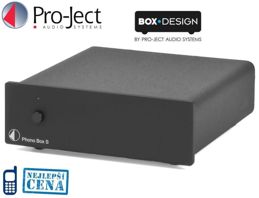 Pro-ject Phono Box S Barevné provedení: černé