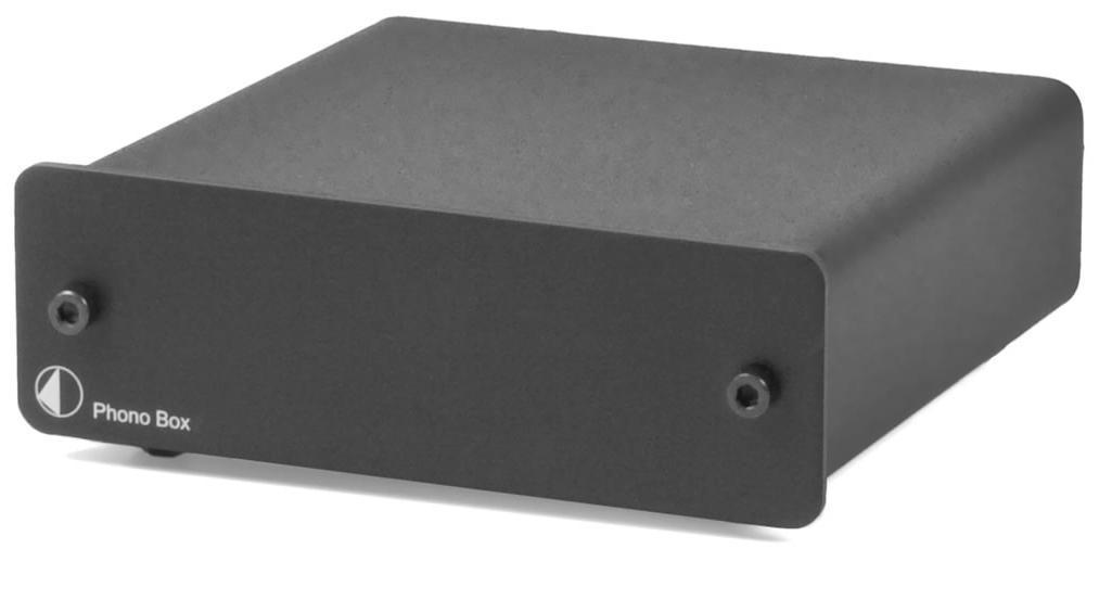 Pro-Ject Phono Box Barevné provedení: černé