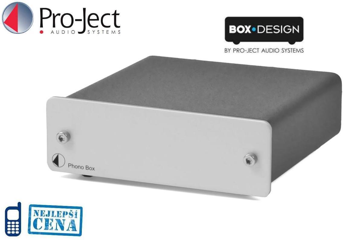 Pro-Ject Phono Box Barevné provedení: stříbrné