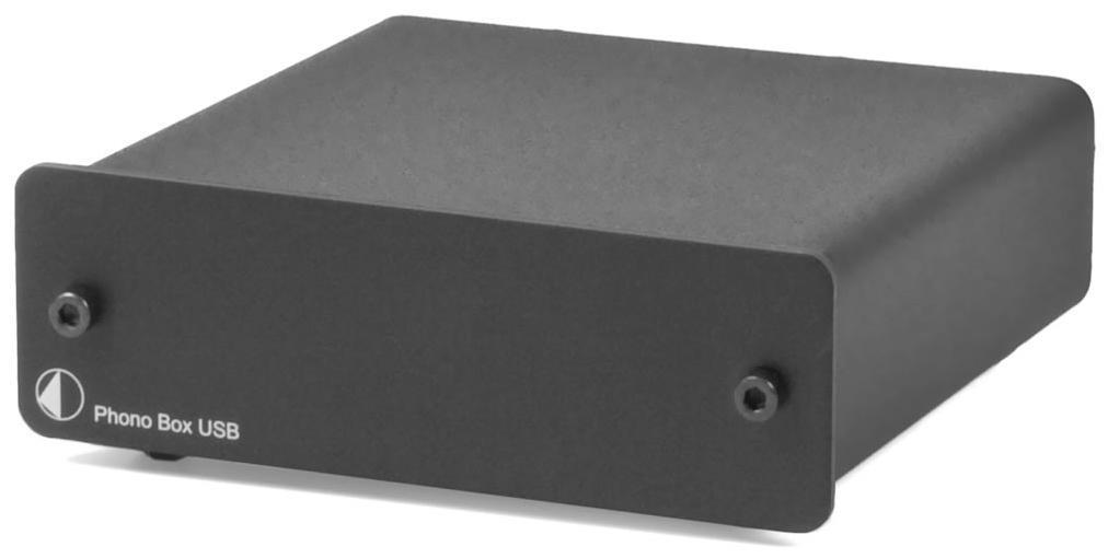 Pro-Ject Phono Box USB Barevné provedení: stříbrné