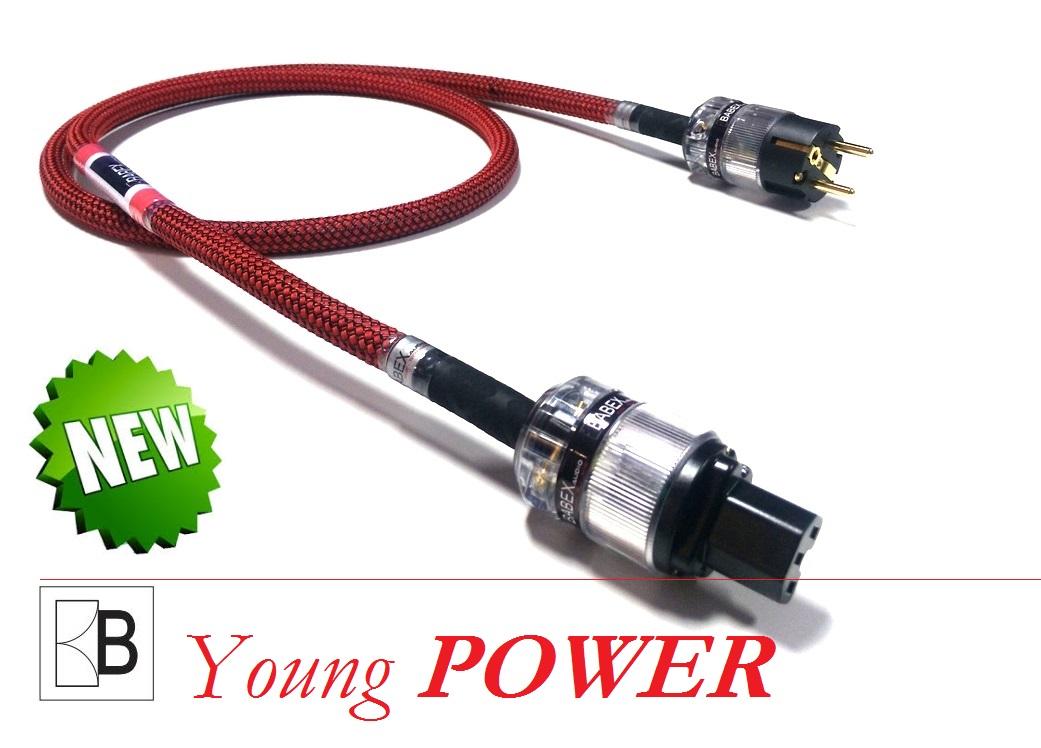 BABEXaudio - Young POWER Délky kabelů: 1,0 m