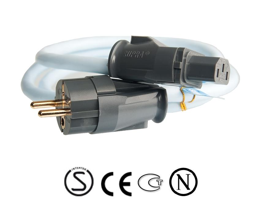 Supra Cables SUPRA LoRad 2.5 CS-EU - 10-16A Délky kabelů: 1,0 m