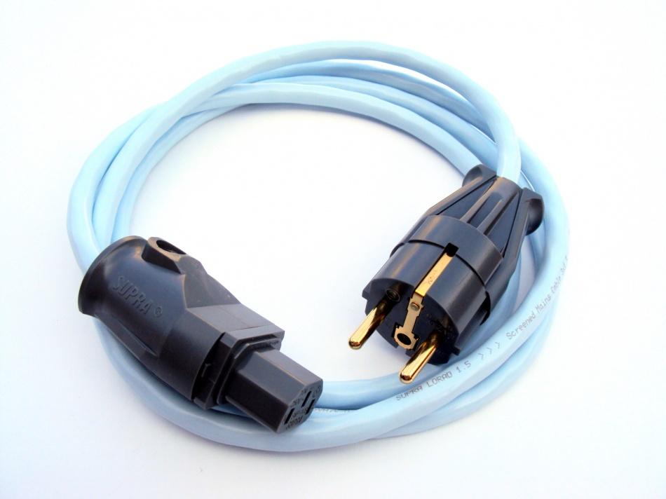 Supra Cables SUPRA LoRad 1.5 CS-EU - 10A Délky kabelů: 1,0 m