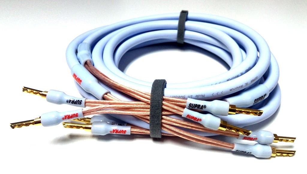 SUPRA XL ANNORUM 2X3.2 COMBICON Délky kabelů: 2x2,0m
