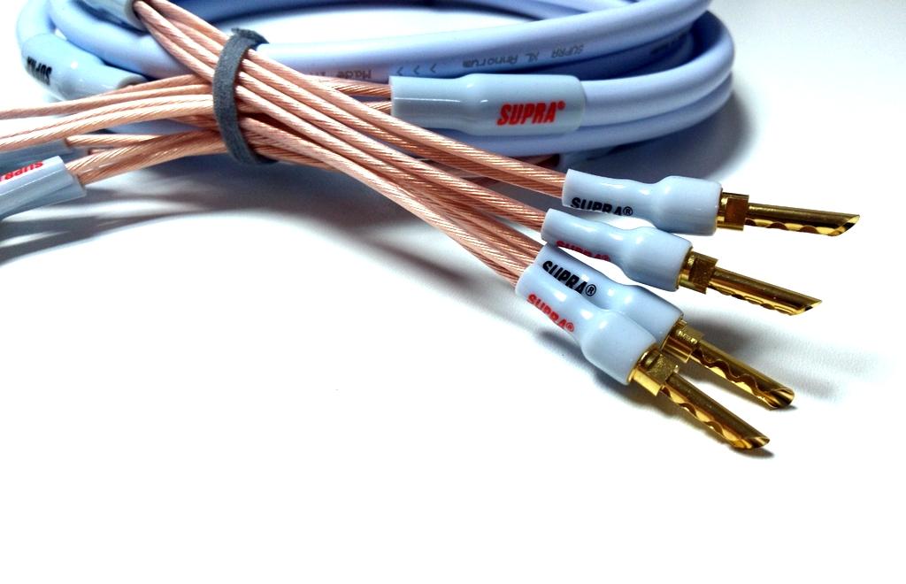 SUPRA XL ANNORUM BI-WIRE COMBICON Délky kabelů: 2x2,0m