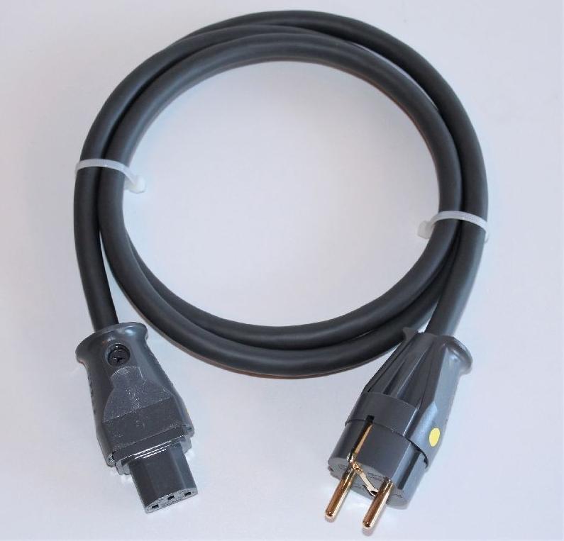 Supra Cables SUPRA LoRad 2.5 Silver CS-EU Anniversary - 10-16A Délky kabelů: 4,0 m