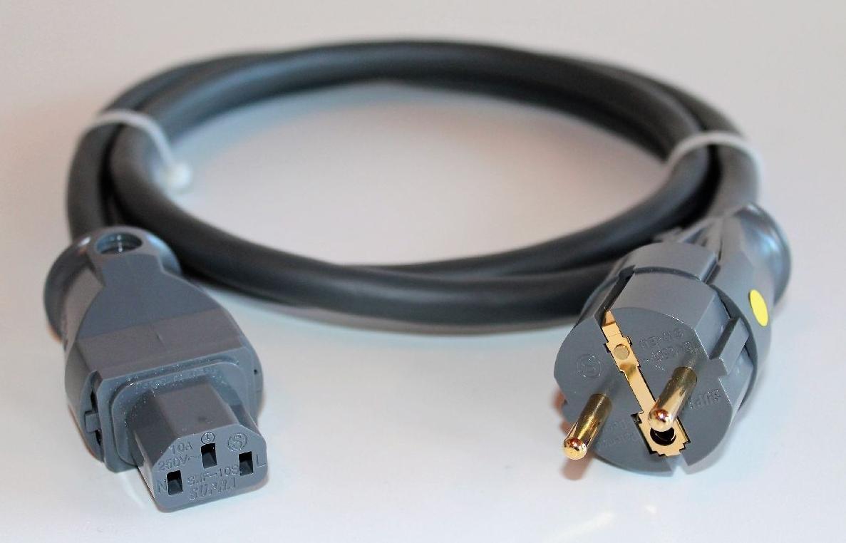 Supra Cables SUPRA LoRad 2.5 Silver CS-EU Anniversary - 10-16A Délky kabelů: 2,0 m