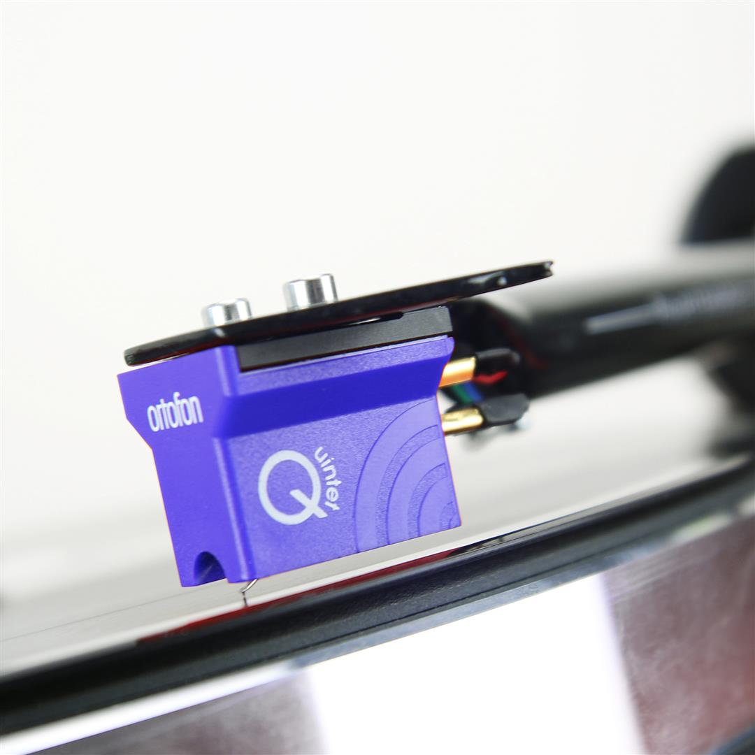 Ortofon MC Quintet Blue + Ortofon BUBBLE LEVEL
