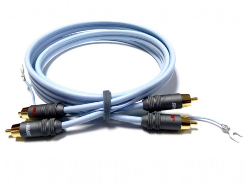 Supra Cables SUPRA PHONO 2RCA-SC AUDIO Anniversary Délky kabelů: 1,5 m