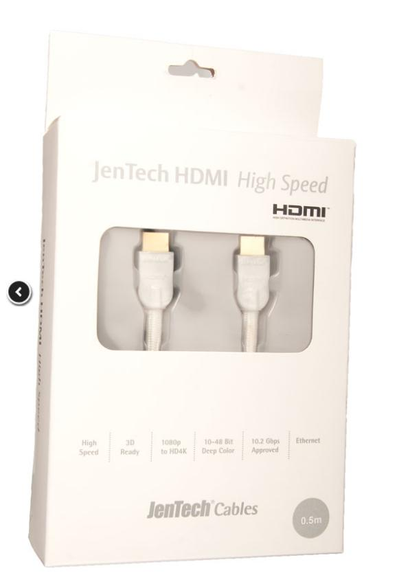Supra Cables SUPRA by JenTech - HDMI High Speed With Ethernet Délky kabelů: 4,0 m