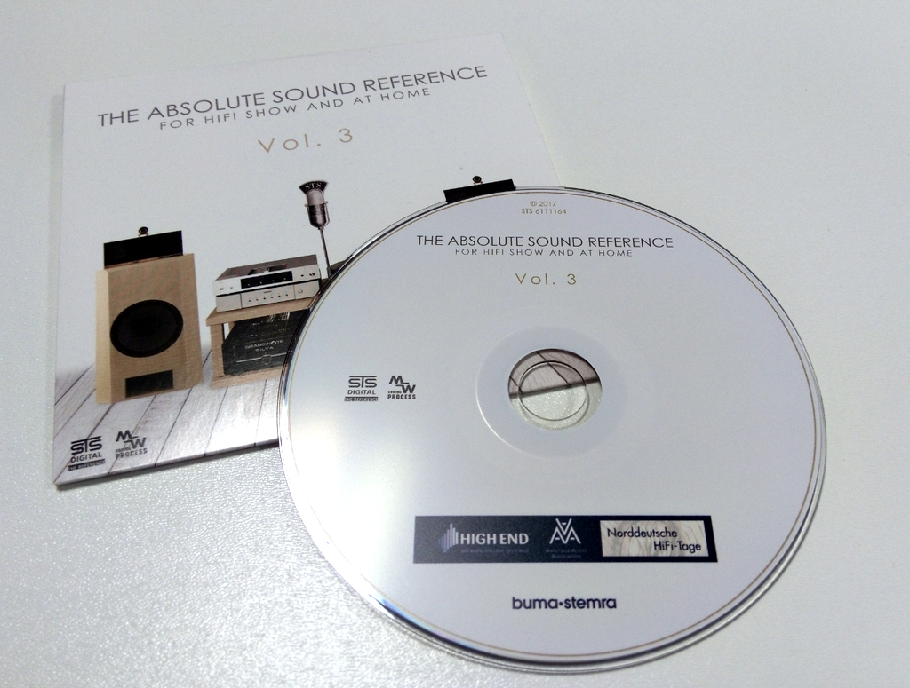 STS Digital - THE ABSOLUTE SOUND REFERENCE Vol.3