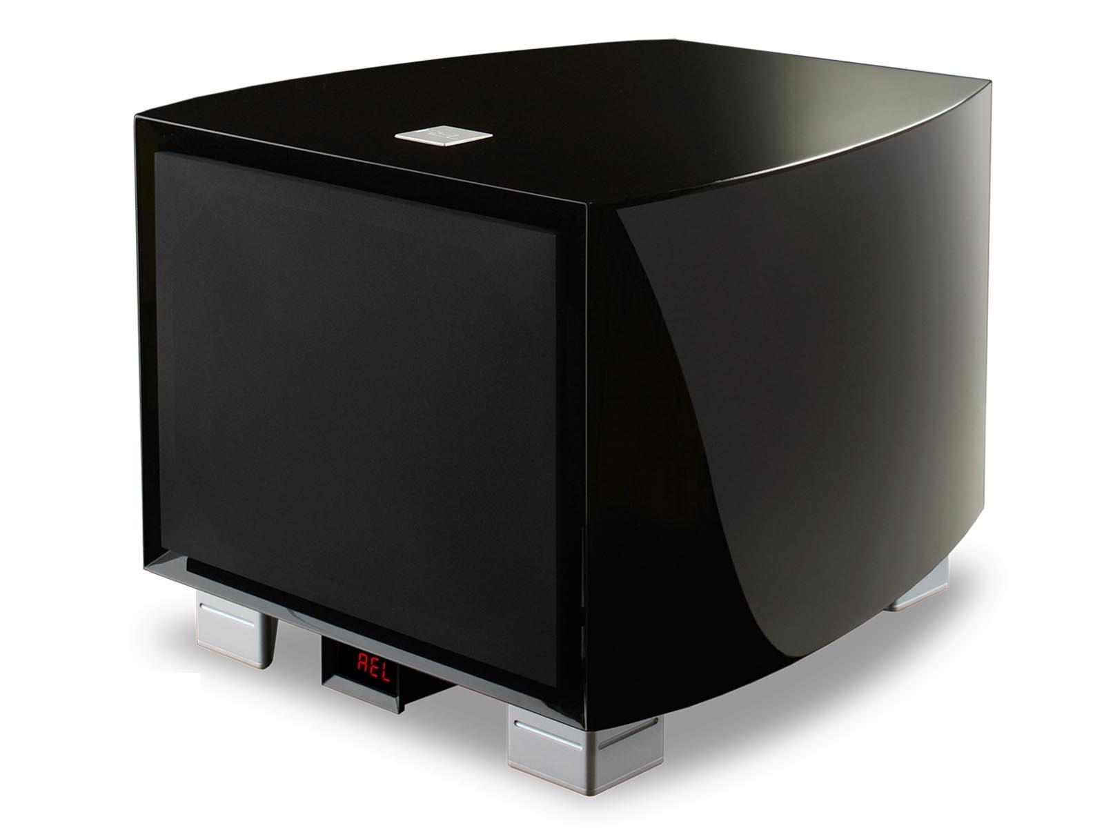 REL Gibraltar G2 - černý klavírní lesk