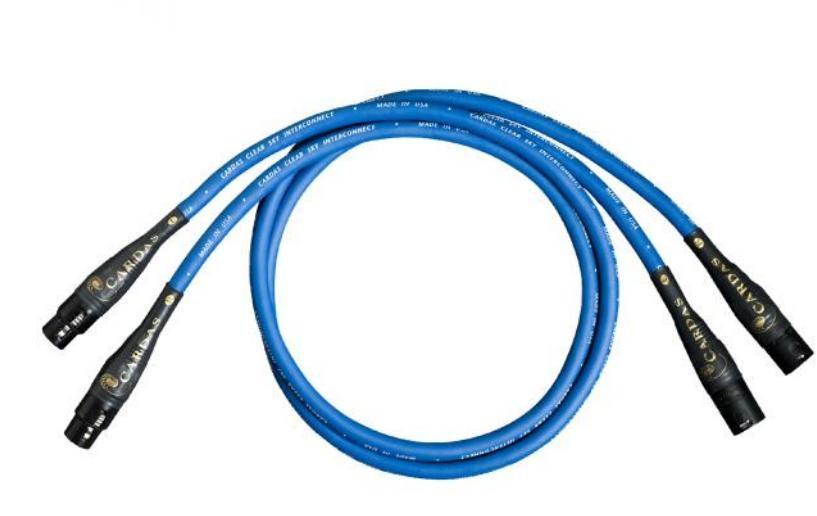 Cardas Audio clear Sky Délky kabelů: 1,0 m