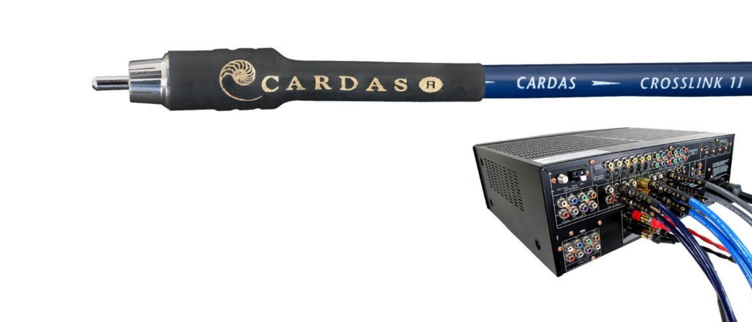 Cardas Audio Crosslink Délky kabelů: 2,0 m