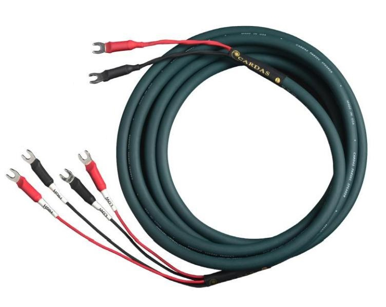 Cardas Audio Parsec Speaker - biwiring Délky kabelů: 3,0 m