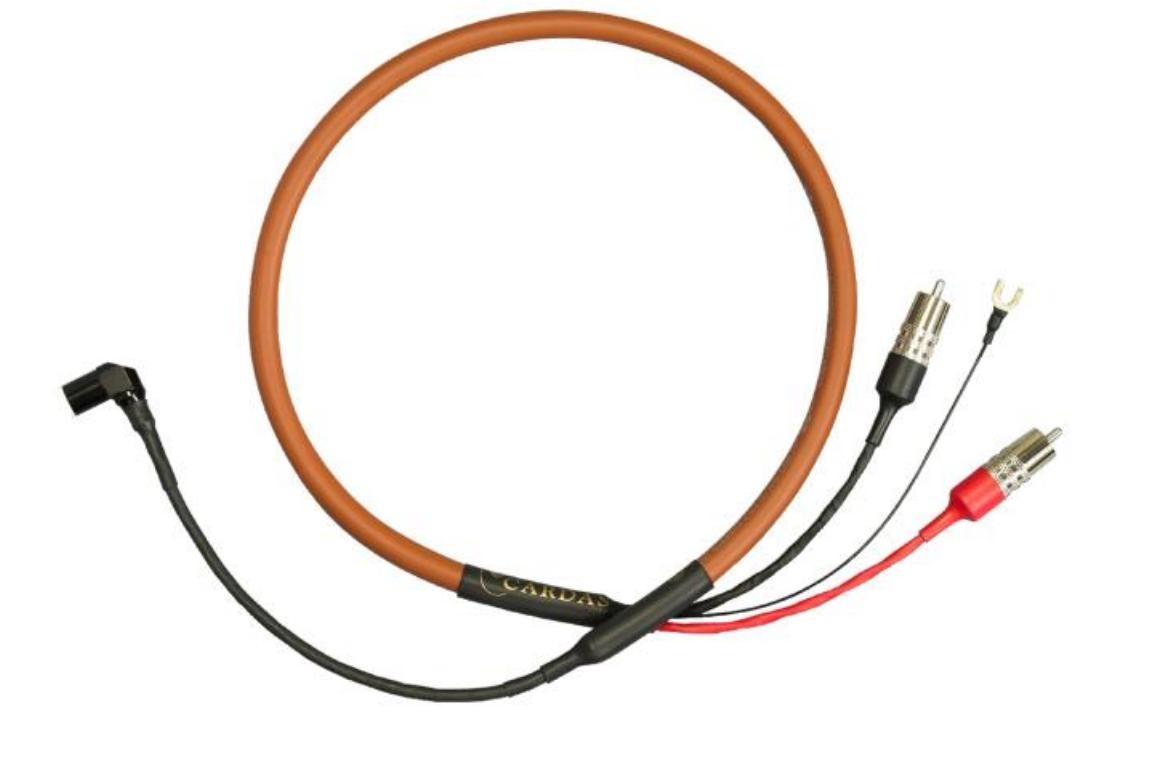 Cardas Audio Cross Phono Délky kabelů: 1,0 m