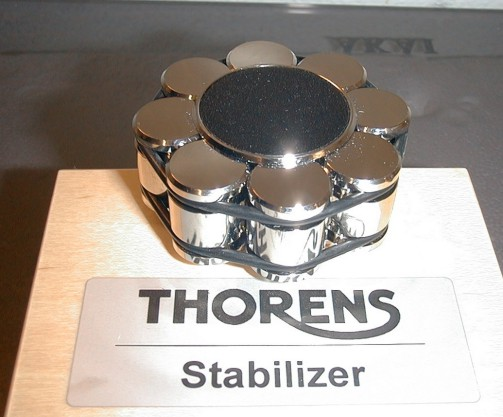 Thorens stabilizer