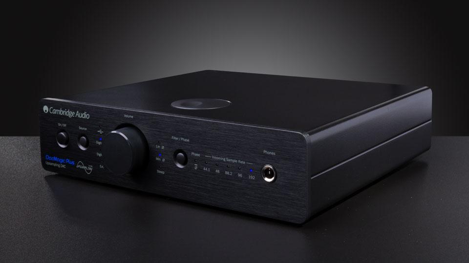 Cambridge Audio DacMagic + Barevné provedení: černé