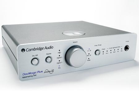 Cambridge Audio DacMagic + Barevné provedení: stříbrné